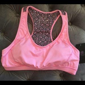 Pink Lotus Women's Sports Bra in pink